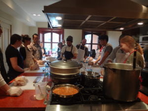 Annie Etheridge Demonstration Kitchen