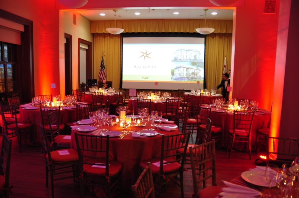 Formal Events at Hill Center