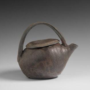 Catherine White - Bottle Teapot