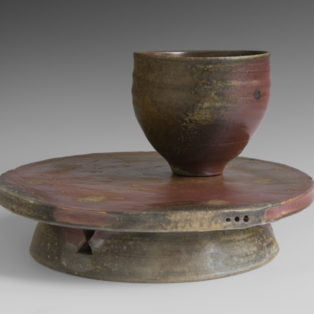 Frederick-Rice bowl on Stand