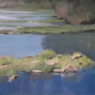 Betsy Glassie - River Sculpture
