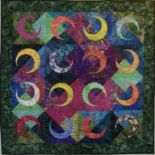 Broken Star Sandy Hassan 40×50 Quilted Wall Hanging $375