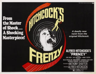 Frenzy HItchcock poster