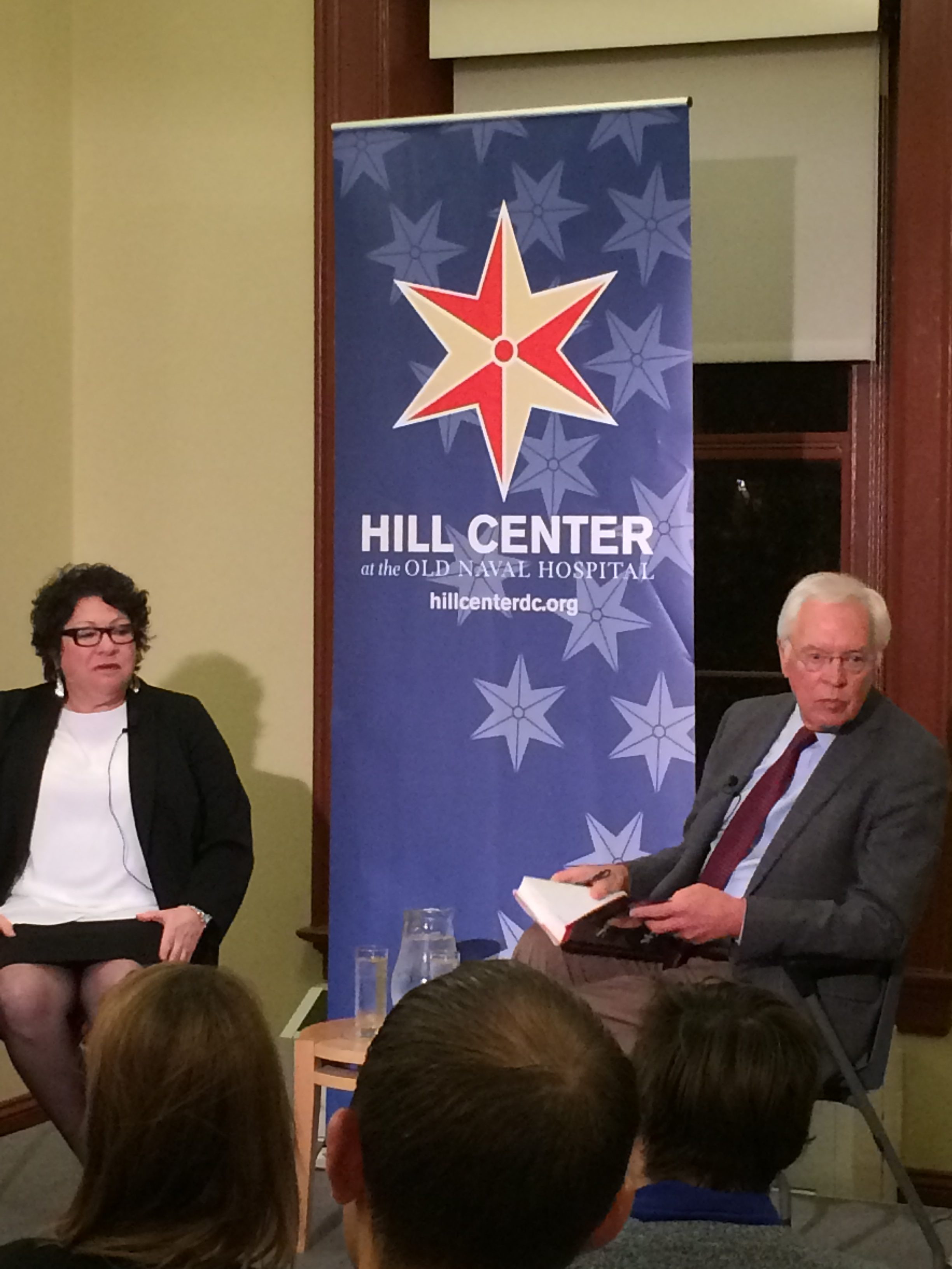 Supreme Court Justice Sonia Sotomayor and Bill Press