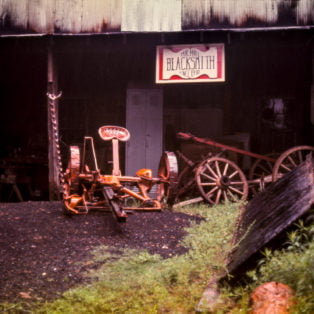 Exterior of Mr. Hall's shop, Oxford, Miss. 1973 Photography 13 X 19 $275 – Michael Ford