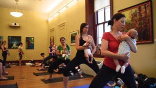 Baby Pop Up Yoga with Breathing Space