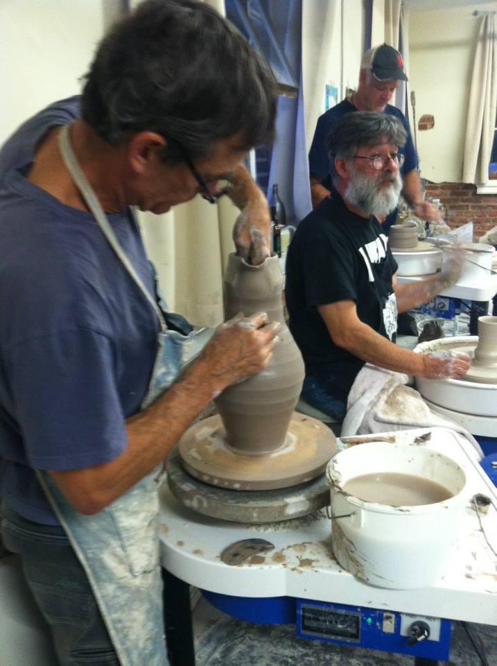 Meet the Pottery Jammers: Dan Finnegan, Mark Shapiro and Sam Taylor