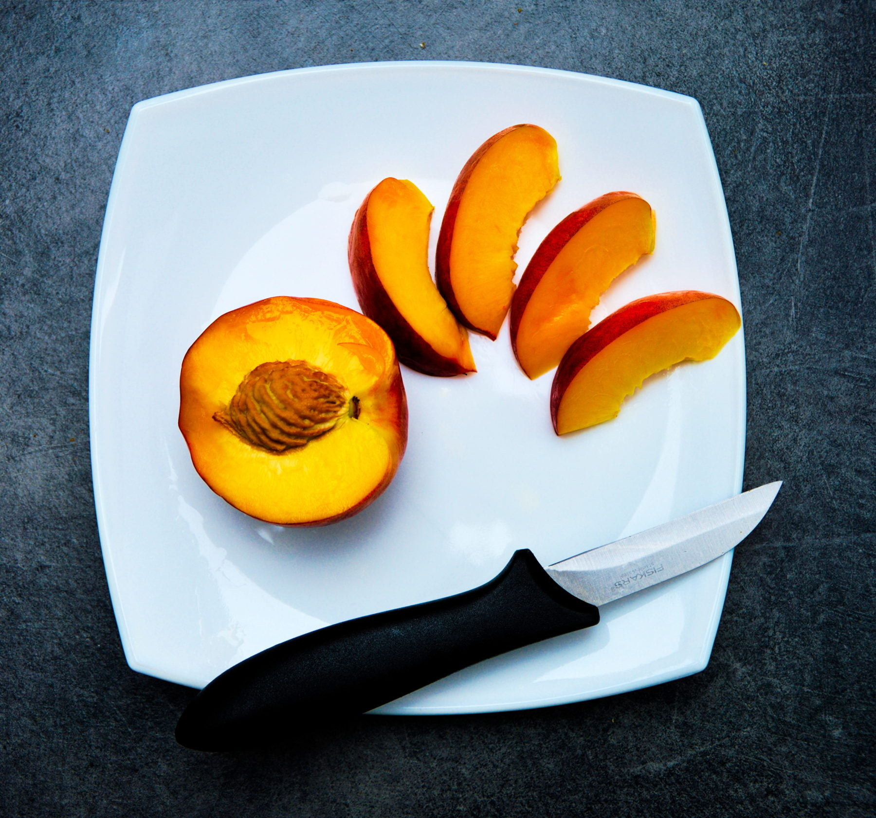 12 Days of Christmas Cooking: Gateau of Peaches with Mascarpone and Lemon Verbena
