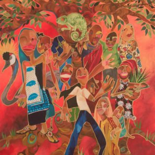 1st Place: Under the Baobab Tree by Yemonja Smalls