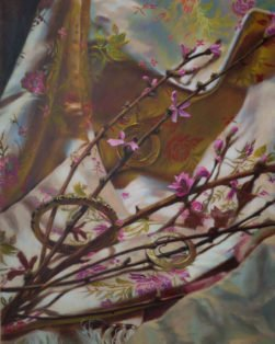 Ephemeral Spring-CinCin Fang-Oil-20inx24in-$700 - Hui Fang