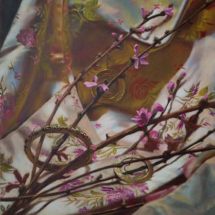 Ephemeral Spring-CinCin Fang-Oil-20inx24in-$700 - Hui Fang