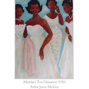 Mamie Tea Glamo - Janie McGee