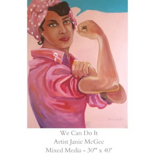 We Can Do It May 2019 - Janie McGee