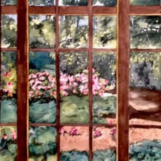 _Art Collector_s Window_ Tara Hamilton Watercolor 11_x14_ $300 - Tara Hamilton