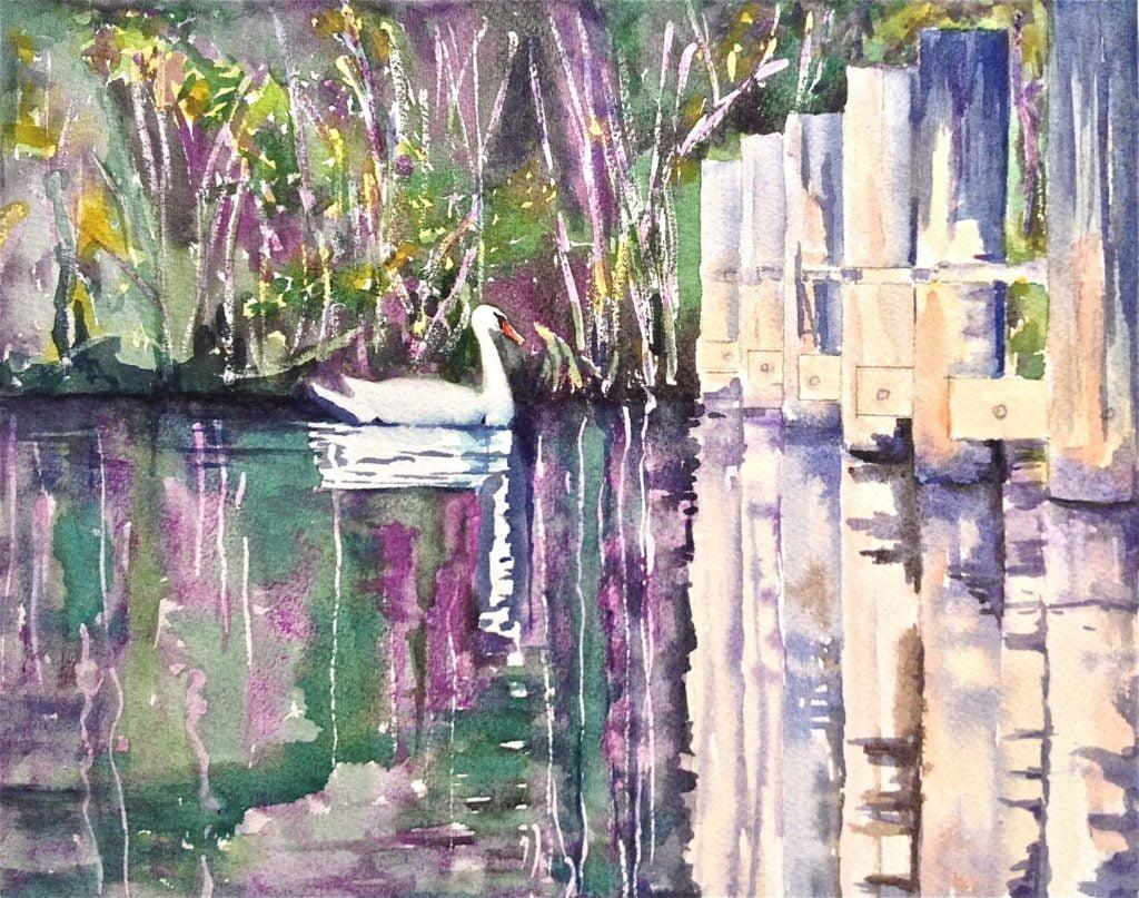 _Grace Reflections_ Tara Hamilton Watercolor 8_x10_ $300 - Tara Hamilton
