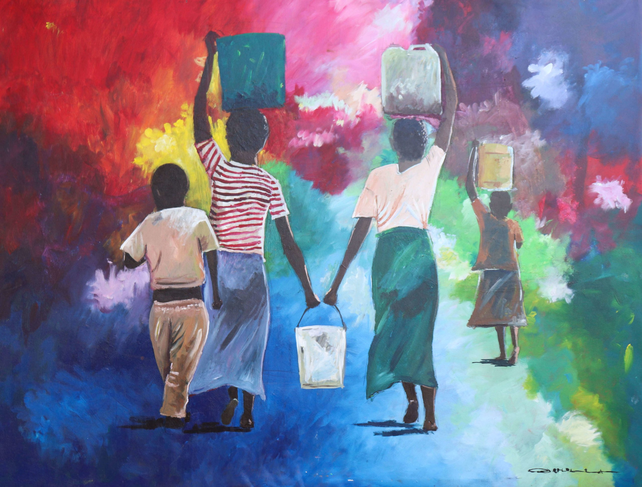 Young Artists from Nairobi