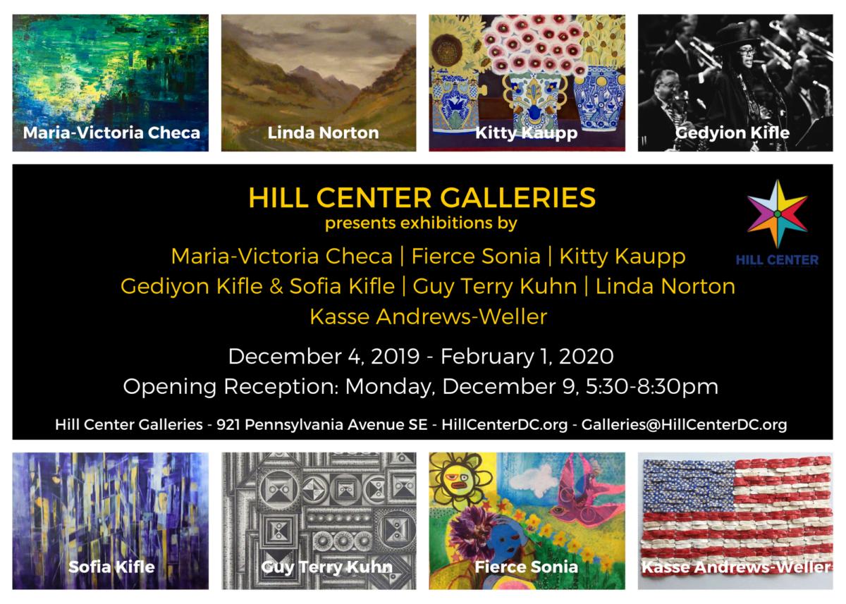 Hill Center Galleries December 2019-February 2020