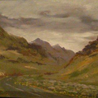 Snowdonia, Wales-LInda Norton-soft pastel-10w x 8 h-225. - Linda Norton