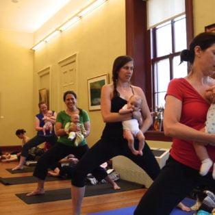 Baby Yoga Pop Up