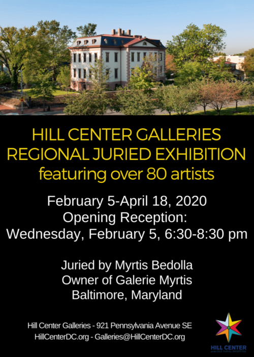 hill center juried exhibition
