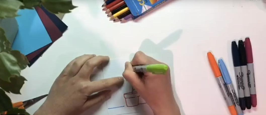 Eastern Market Art Series & Teachings: Make Art at Home For Calvary Women's Services