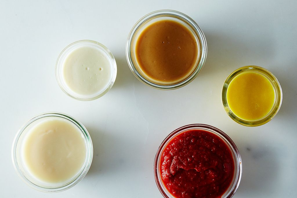 Five sauces called the Mother Sauces