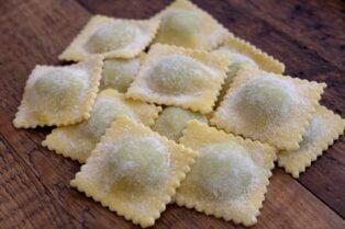 fresh ravioli pasta