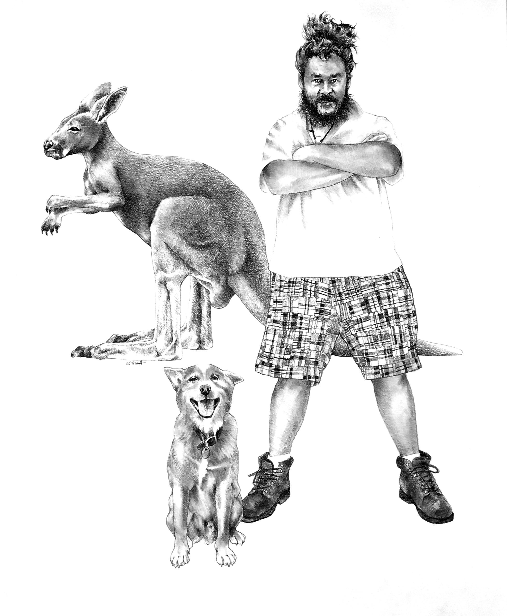 Kangaroo and Big God Nqong