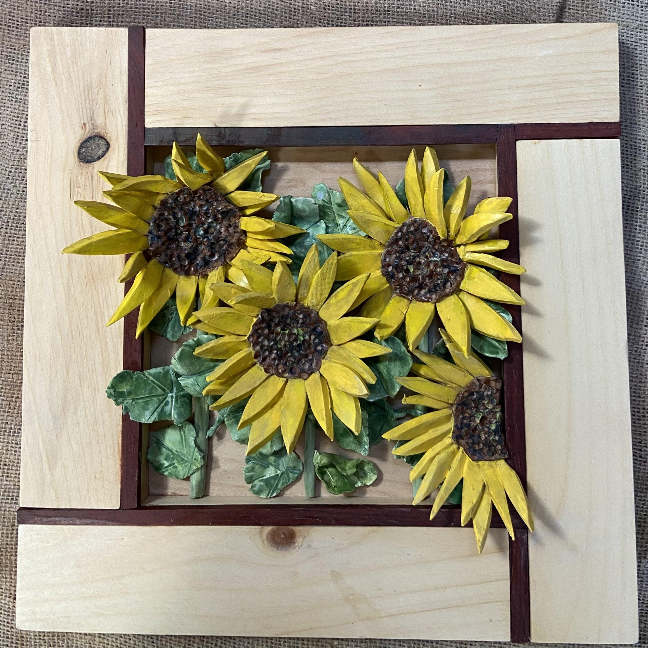 Mondrian Sunflowers